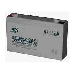 赛特蓄电池BT6M7.0AC、6V7AH/20HR